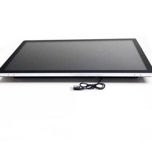 touchscreen monitor wall mount 23.8 inch front-bottom