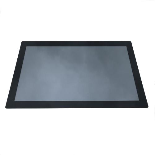 "27"" panel mount pcap touchscreen monitor front"
