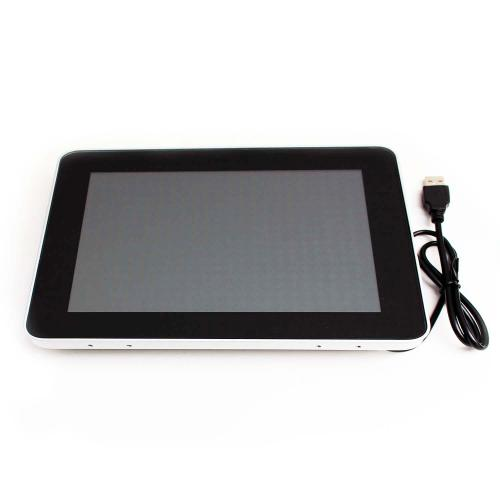touchscreen monitor on wall mount 10.1 inch front