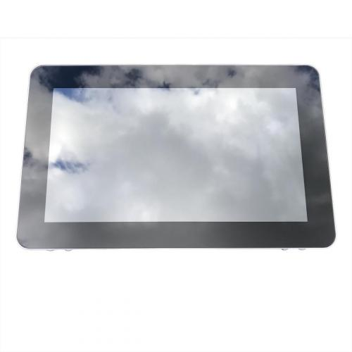 touchscreen monitor on wall mount 13.3 inch front