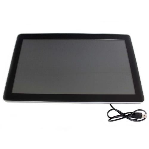 touchscreen monitor on wall mount 15.6 inch front