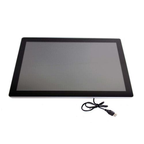 touchscreen monitor on wall mount 18.5 inch front