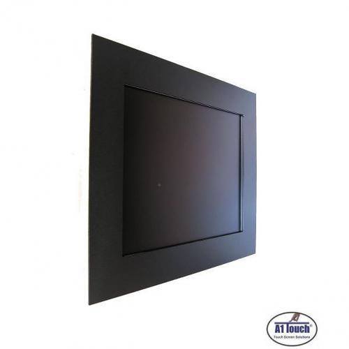 Touchscreen panel mount aod black